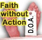 I do not want my faith to be D.O.A.